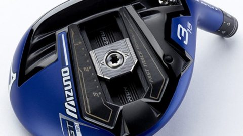 Mizuno GT180 driver, fairway wood mix hot face material with movable weight