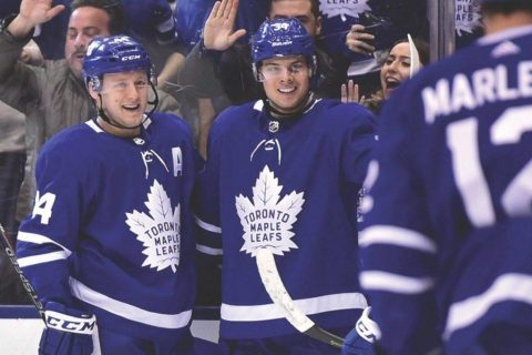 Leafs' Matthews has top-selling jersey, edging Crosby, McDavid: NHL