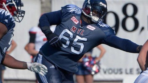 B.C. Lions bring back 6-time all-star offensive lineman Jovan Olafioye