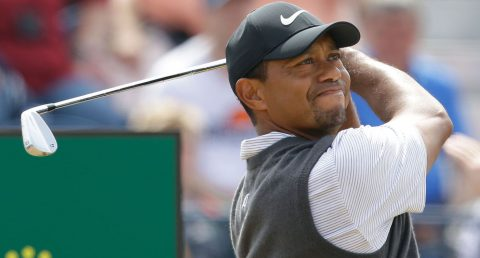 Watch live: Tiger in the hunt on moving day