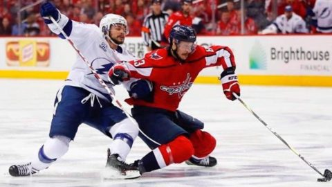 Canucks sign former Capitals centre Jay Beagle to four-year deal