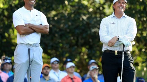 Get excited for Tiger and Phil's $10-million showdown, a cringeworthy money grab to keep the yacht running