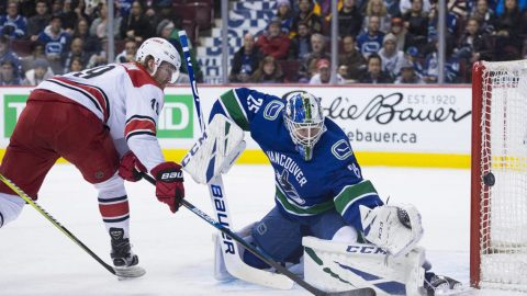 Teravainen's 3 points lift Hurricanes to 5-2 win over Canucks