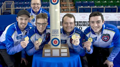 BC junior curlers bring home third national gold