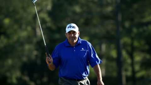 Snedeker, Cabrera tied for Masters lead