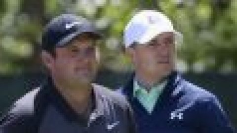 WATCH: Spieth and Reed hug it out