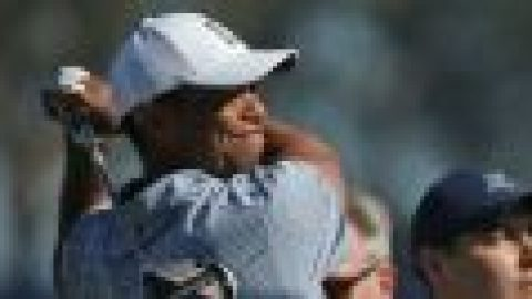Tiger aims for positive finish
