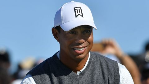 Tiger 'trying to get over' the mental hurdle of leaving the flag in