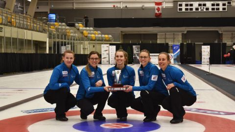 Team Wark wins first curling provincial title