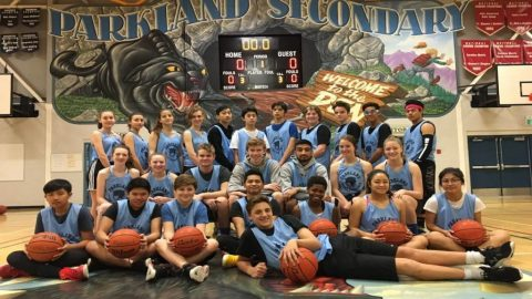 Former elite players launch Sports Excellence Basketball at Parkland school