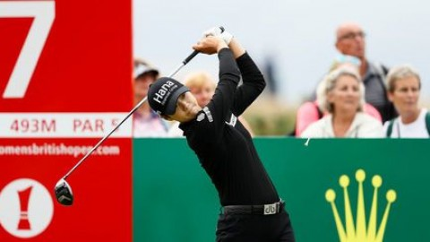 Golf: Korea's Park storms past field to win World Championship