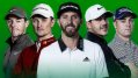 Five battle for golf's world No 1