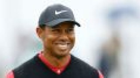 Tiger 'on track' for Masters