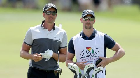 Stenson 'fires' caddie after shooting 66 at Bay Hill