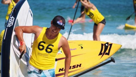 Sidney catches a wave with Stand Up Paddleboard Nationals