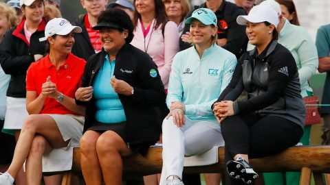 Emotional first tee kicks off Augusta National Women's Amateur final round