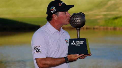 McCarron goes wire-to-wire to win Champions event at TPC Sugarloaf