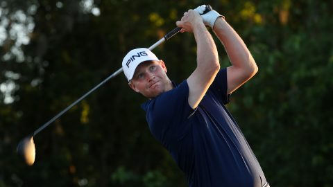 Stallings/Mullinax (61) lead as Zurich Classic falls behind schedule
