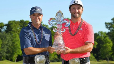 Rahm-Palmer top Garcia-Fleetwood to win Zurich Classic of New Orleans