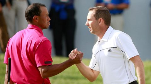 As Tiger won Masters, an 'impressed' Sergio was watching on TV