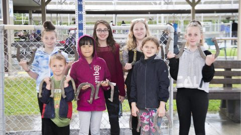 VIDEO: Horseshoe pitching association appeals to Greater Victora youngsters