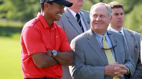 Nicklaus likes Tiger's chances to break major record