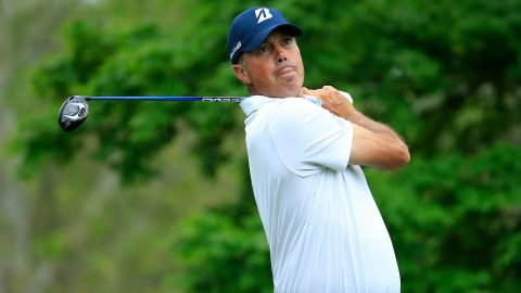 Kuchar 'certainly satisfied' with par after lobbying for embedded drive