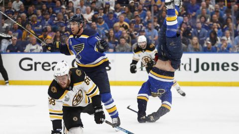 Bruins rout Blues 7-2 in Game 3 of Stanley Cup Final