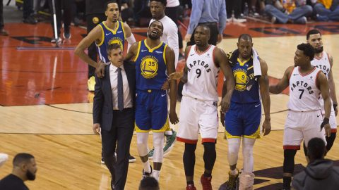 Golden State Warriors star Kevin Durant undergoes surgery for ruptured Achilles
