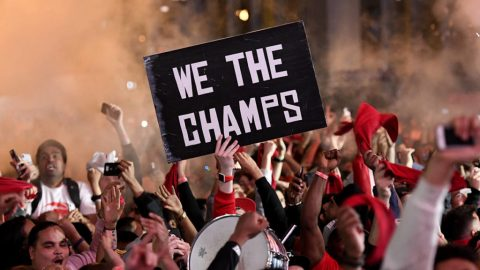 We the North: Delirious fans celebrate as Raptors win NBA title