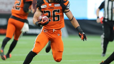 Slain friend motivates rookie football player to make it with hometown B.C. Lions