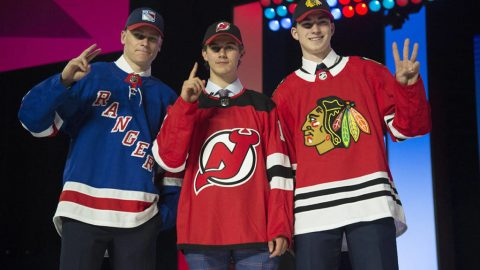 Devils tab Jack Hughes with No. 1 pick in 2019 NHL entry draft