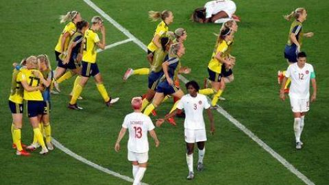 Canadians crash out of Women's World Cup in 0-1 loss to Sweden