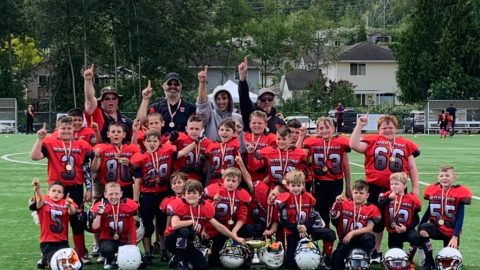 Football Warriors romp to win in Vancouver Island Football League championship game