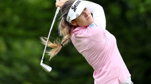 Aussie Green holds slim lead at Women's PGA Championship