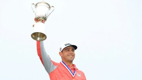 Woodland returns to PGA in Detroit after US Open triumph