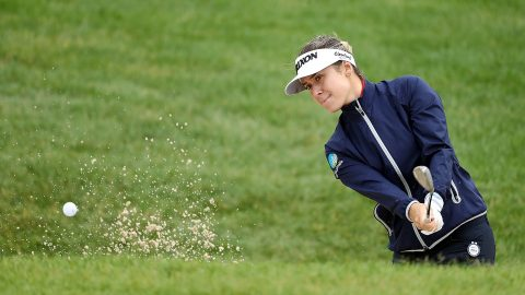 Green holds three-shot lead heading to weekend at Women's PGA
