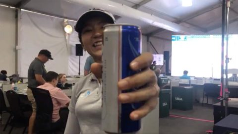 Ko springs for beers after U.S. Women's Open ace