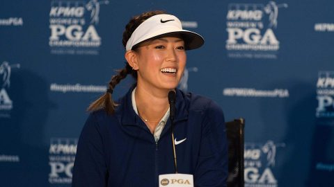 Ready or not, here she comes: Wie back from injury, again, at Women's PGA