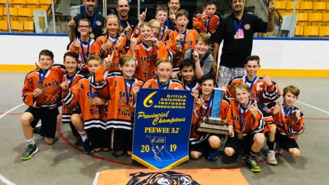 Pair of Saanich Tigers teams heading to provincial championships