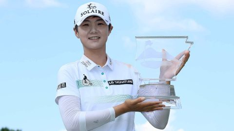 S.H. Park back to world No. 1 after Arkansas victory