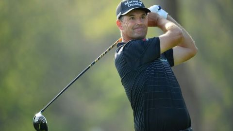 Harrington storms into lead at Irish Open