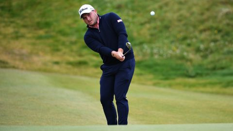 Lombard (67) rises to take second-round lead at Irish Open