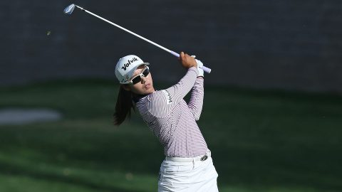 M.H. Lee takes lead at Evian Championship as Creamer tumbles after delay