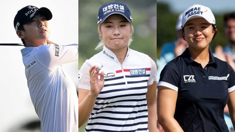 Evian odds: Park, Lee6, Kim favored at 14/1