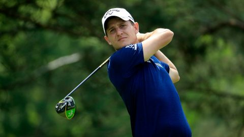Missed putt costs Grillo, who vents frustration with finger