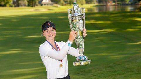 Even with a late caddie switch, Ruffels wins U.S. Women's Amateur