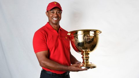 Woods keeping door open for picking himself as Presidents Cup captain's pick