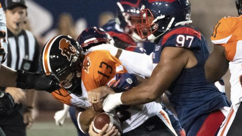 Sagging B.C. Lions fall to 1-10 after 21-16 loss to Montreal