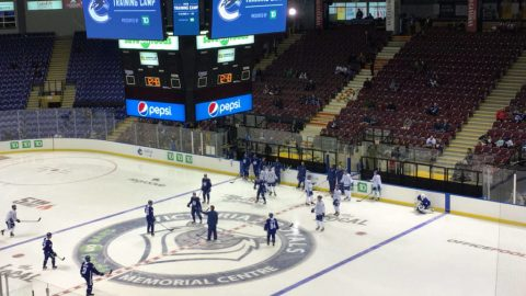 PHOTOS: Vancouver Canucks gear up for 50th season with Training Camp in Victoria